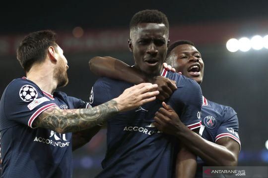 Liga Champions: Babak pertama usai PSG unggul 1-0 atas Manchester City