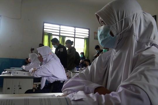 30 SMP Negeri di Palembang gelar PTM terbatas