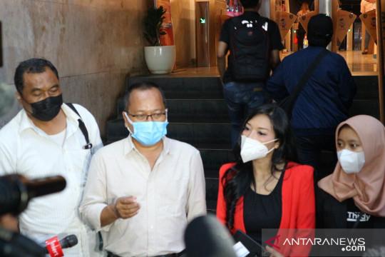 Pelapor Olivia Nathania diperiksa Polda Metro Jaya