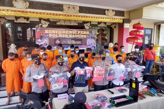 Polres Badung sita satu paket sabu-sabu dari oknum ASN di Bali
