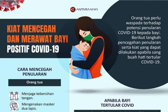 Kiat mencegah dan merawat bayi positif COVID-19