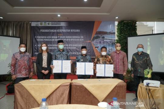 Pemeritah Aceh-PT SBI jalin kerja sama pengelolaan sampah