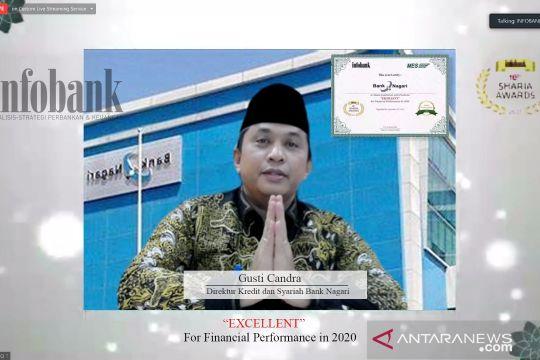 UUS Bank Nagari kembali meraih Infobank Sharia Award 2021