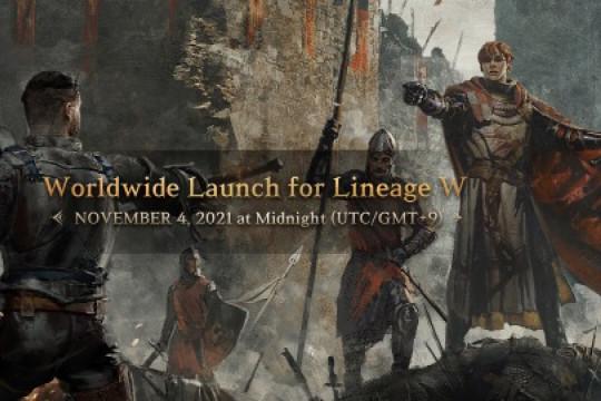 Lineage W rilis di seluruh dunia pada 4 November