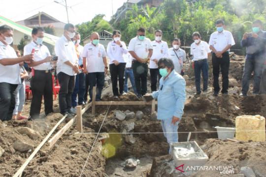 Pemkab Minahasa Tenggara bangun rumah warga korban banjir bandang