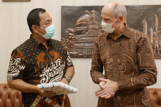 Dubes Belanda bahas pengembangan Semarang dengan wali kota