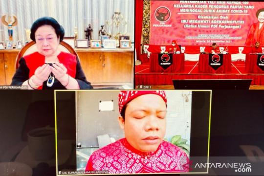 Megawati ingatkan kader jangan hanya berpikir soal politik