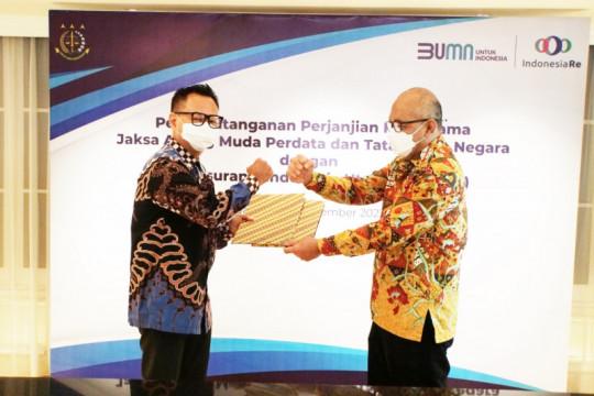 Gandeng Kejagung, Indonesia Re optimistis tingkatkan tata kelola hukum