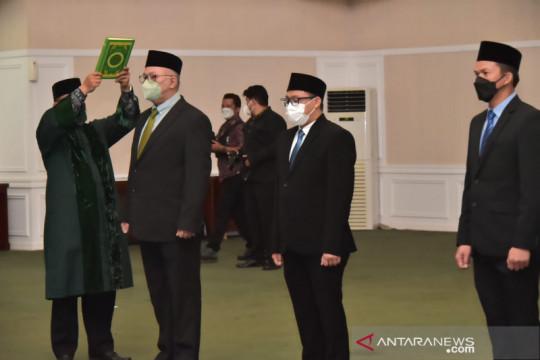 Bupati Bogor lantik 3 direksi baru PDAM Tirta Kahuripan