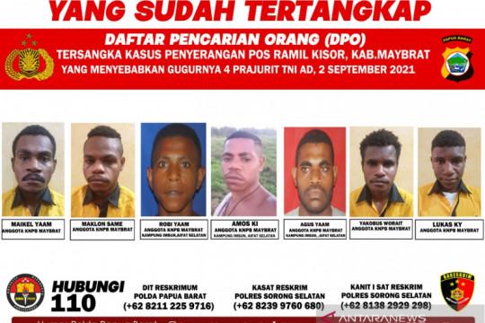 Polisi tangkap lima anggota KNPB Maybrat