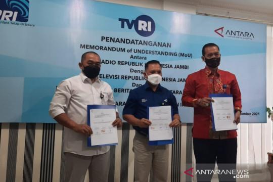 LKBN-ANTARA-TVRI-RRI kerja sama sinergi penyiaran berita di Jambi
