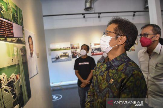 Menteri Kesehatan buka pameran foto Pandemonium