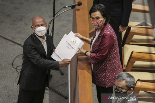 Rapat Paripurna DPR-RI sahkan RAPBN 2022 jadi Undang-Undang