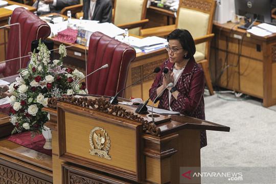 Di DPR, Sri Mulyani sebut kontribusi PNBP akan dipacu dukung APBN 2022