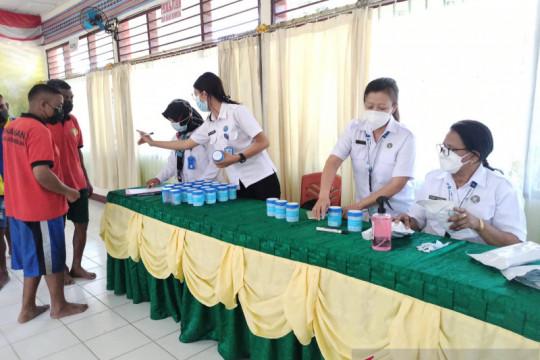 184 warga binaan dan pegawai LP Atambua diuji urin