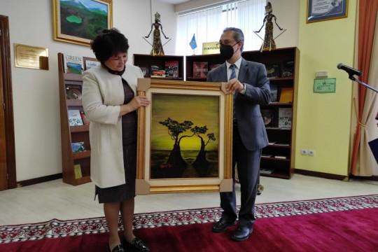 Pojok baca Indonesia hadir di Perpustakaan Nasional Kazakhstan
