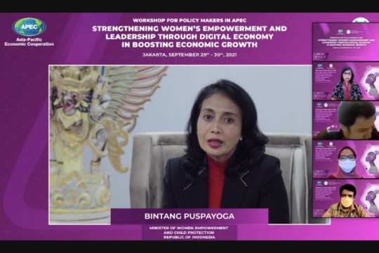 KPPPA dorong peran perempuan pengusaha dalam pemulihan ekonomi