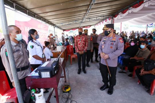 Kapolri: Vaksinasi di Papua ditingkatkan dukung pelaksanaan PON