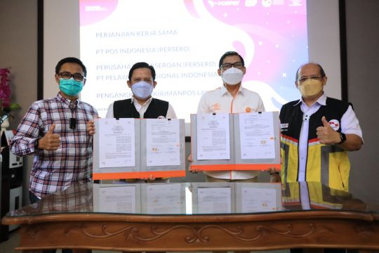 Pelni dan Pos Indonesia jalin kerja sama kiriman pos laut