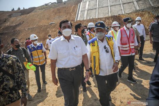Tiga menteri tinjau proyek Jalan Tol Cisumdawu