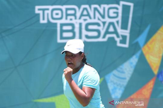 Tenis beregu putri DKI tembus final PON Papua