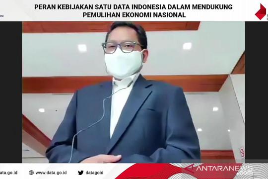 Bappenas: Satu Data Indonesia dukung pemulihan ekonomi nasional