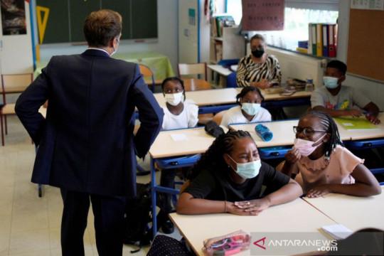 Siswa SD di Prancis tak lagi wajib pakai masker