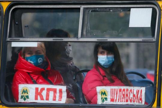 Ukraina alami lonjakan kasus baru COVID-19