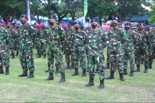 9.490 prajurit TNI-Polri diterjunkan amankan PON XX Papua