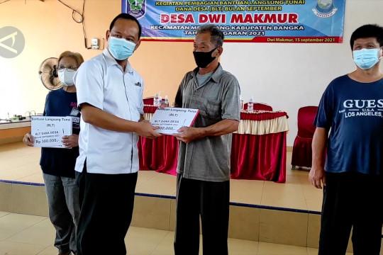 1.472 KPM di Kabupaten Bangka terima BLT-DD ke IX