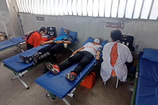 Dishub Cilegon gelar donor bantu pemenuhan stok darah di masa pandemi