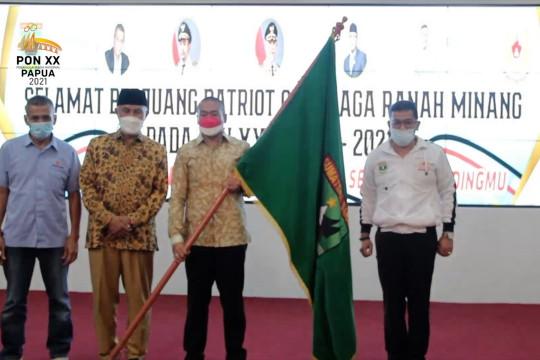 Lepas 188 atlet, Gubernur Sumbar targetkan 16 medali emas di PON