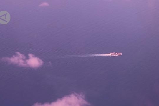 Pangkoarmada I pantau keamanan laut Natuna Utara melalui udara