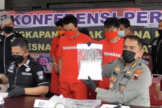 Polda Jateng tangkap lima kurir narkoba dalam sepekan terakhir