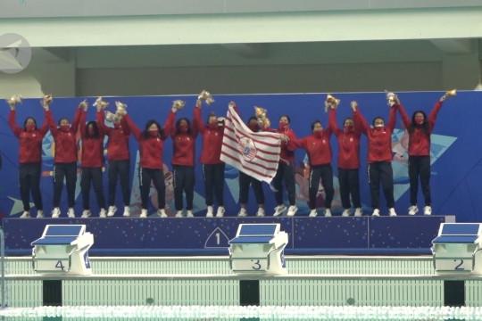 Polo air putri DKI raih medali emas