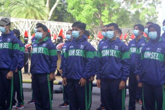 Sumsel lepas 102 atlet bertanding di PON XX Papua