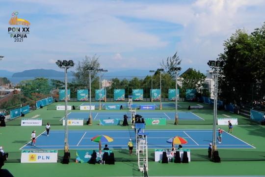 Taklukkan Papua, Tim Tenis Putri Jatim lawan Jakarta di final