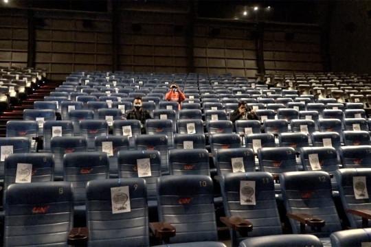 Bioskop diizinkan beroperasi kembali saat PPKM