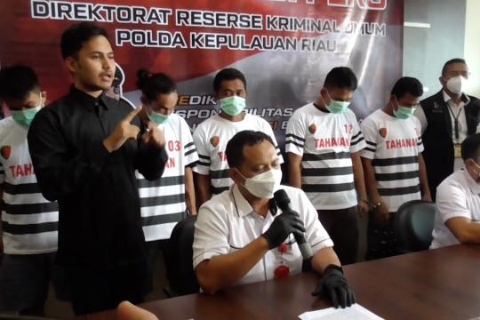 Ditreskrimum Kepri selamatkan 7 korban pekerja migran Indonesia