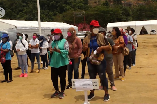 620 relawan konsumsi PON XX disebar di Kota Jayapura