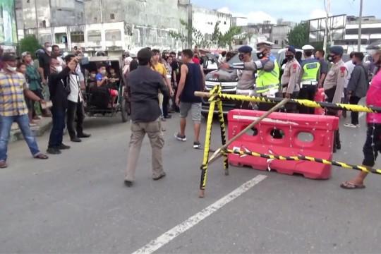 Kota Lhokseumawe sekat empat titik untuk batasi mobilitas warga