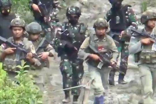 Empat DPO teroris Poso jadi pr Satgas Madago Raya