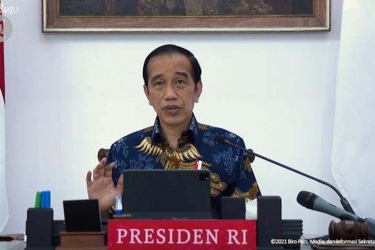 Presiden ingatkan jajarannya waspadai varian Mu