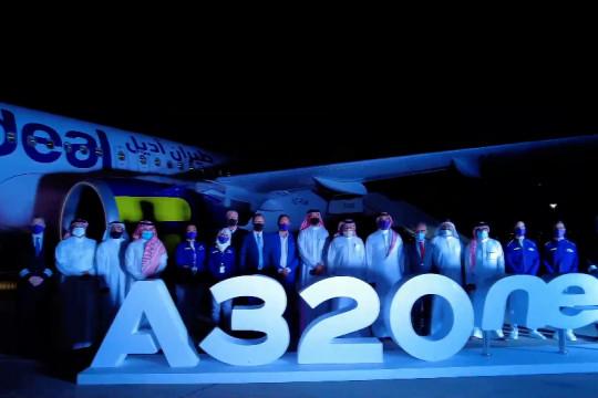 Maskapai bertarif murah Arab Saudi terima pesawat Airbus baru