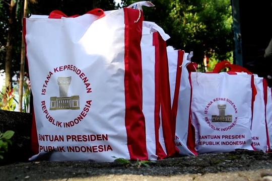 Pemkot Pontianak salurkan beras bantuan Presiden RI