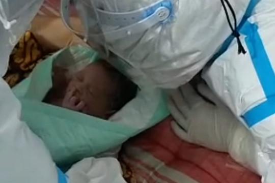 Positif COVID-19, pekerja migran melahirkan bayi di RSLI Surabaya