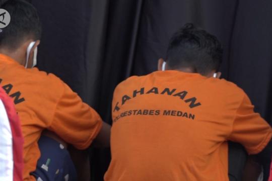 Perampokan emas Rp6,5 M di Medan libatkan tiga residivis