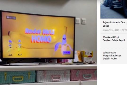 Kominfo putus akses konten LGBT di iklan YouTube Kids