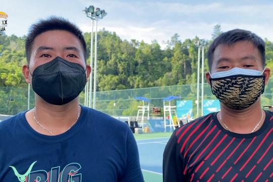David dan Anthony satukan energi berlaga di tenis PON