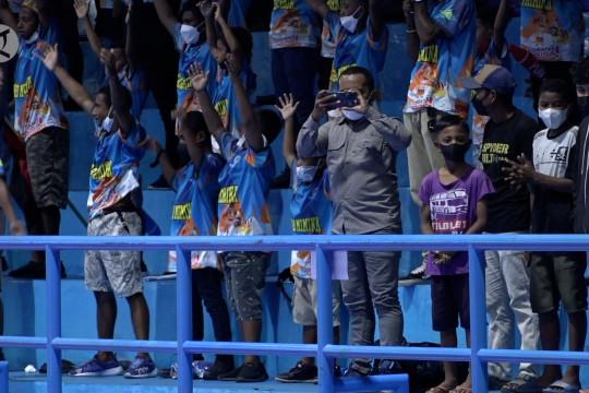 Masyarakat Mimika antusias sukseskan PON Papua
